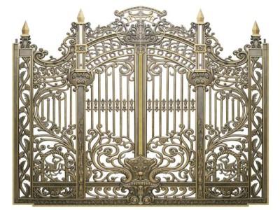 Cổng hàng rào