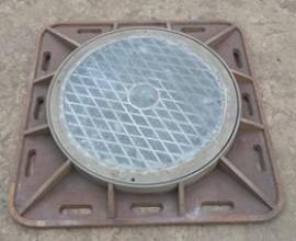 Nắp hố ga thân vuông ngăn mùi